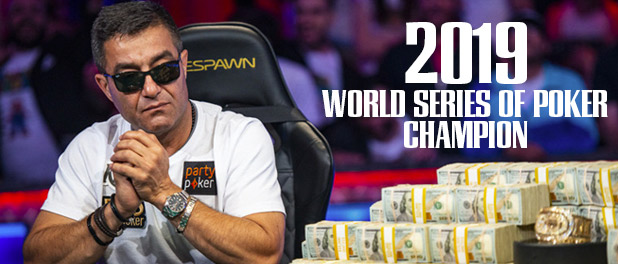 WSOP   WELCOME TO THE 2019 WORLD SERIES OF POKER