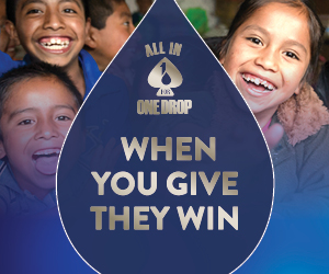 All In For One Drop | When You Give, They Win