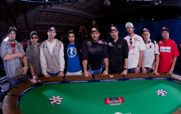 THE 2010 WSOP MAIN EVENT NOVEMBER NINE IS SET!