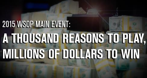 WSOP Announces 2015 Main Event Payout Change