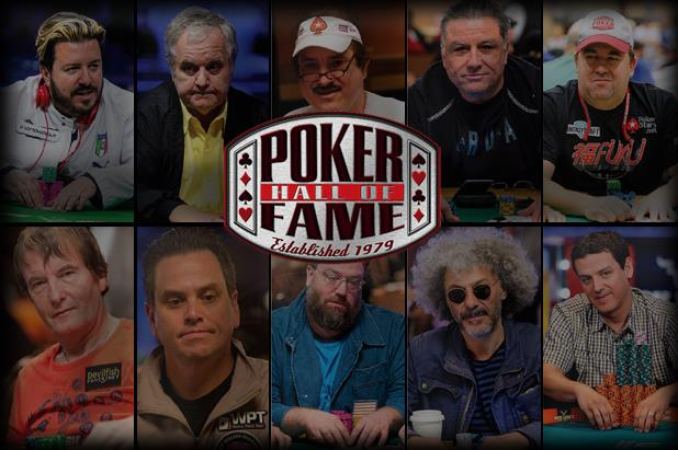 TEN FINALISTS FOR THE 2016 POKER HALL OF FAME UNVEILED