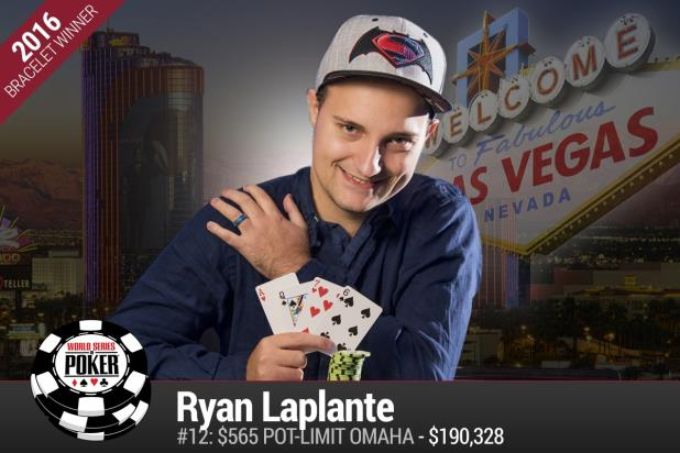 RYAN LAPLANTE WINS BIGGEST POT-LIMIT OMAHA TOURNAMENT IN HISTORY