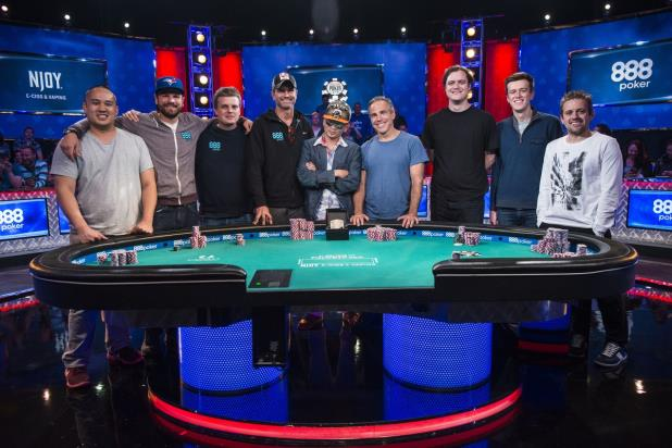 MEET THE 2016 WORLD SERIES OF POKER NOVEMBER NINE