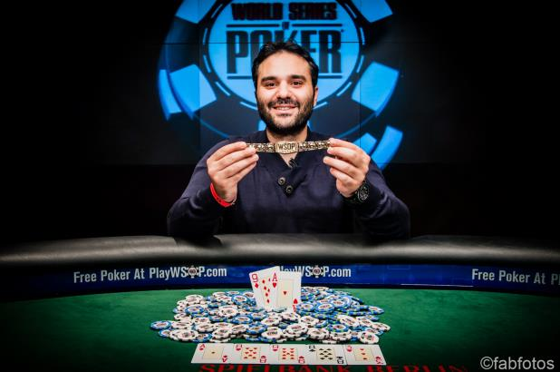 PAVLOS XANTHOPOULOS WINS EUR 3,250 EVENT AT WSOPE EUROPE
