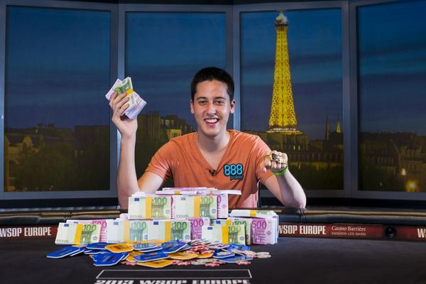 ADRIAN MATEOS GRABS WSOP EUROPE MAIN EVENT BRACELET