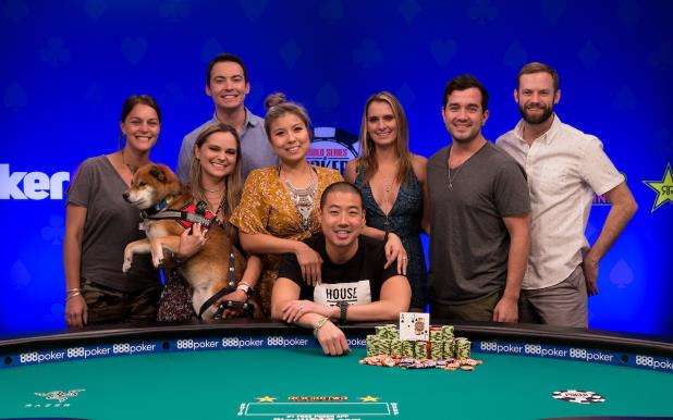 BENJAMIN MOON WINS EVENT 13 BIG BLIND ANTES $1,500 NLHE