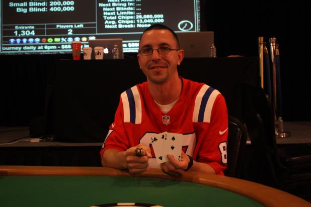 SEAN BERRIOS WINS WSOP CIRCUIT MAIN EVENT AT PLANET HOLLYWOOD