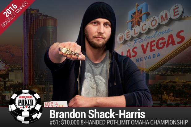 BRANDON SHACK-HARRIS WINS $10K EIGHT-HANDED POT-LIMIT OMAHA CHAMPIONSHIP