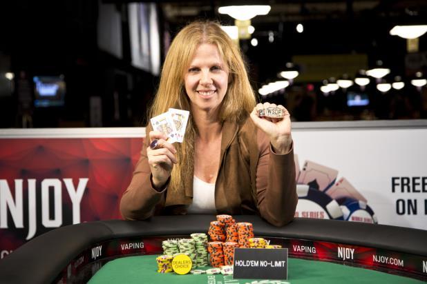 CAROL FUCHS WINS WSOP GOLD BRACELET IN DEALERS CHOICE
