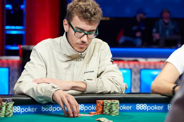 CHRISTOPHER FRANK WINS FIRST BRACELET IN $1,500 NLHE EVENT