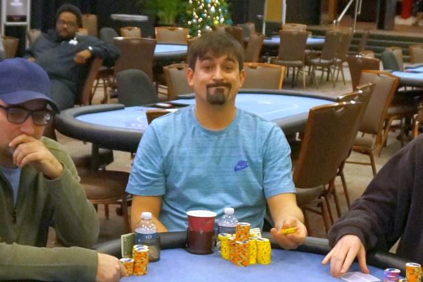 MICHAEL LECH BAGS OVERALL CHIP LEAD HEADING INTO DAY 2 OF IP BILOXI MAIN EVENT