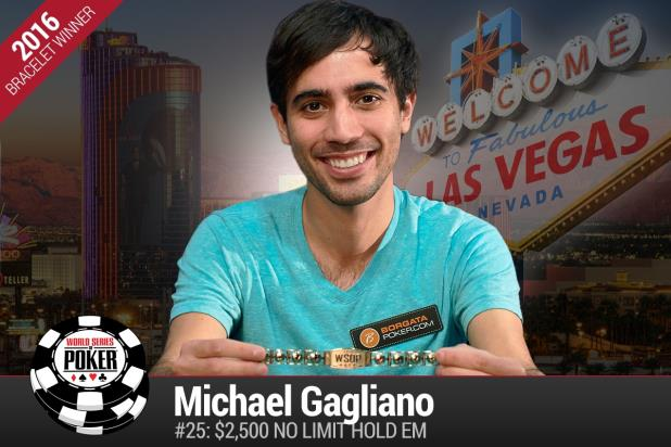 Article image for: MICHAEL GAGLIANO WINS LATEST NO-LIMIT HOLD'EM GOLD BRACELET