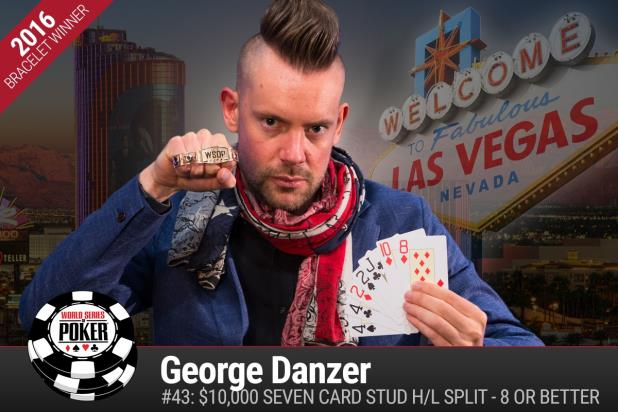 GEORGE DANZER WINS $10K SEVEN-CARD STUD HIGH-LOW SPLIT CHAMPIONSHIP