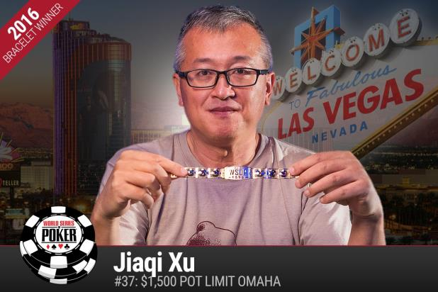 Article image for: JIAQI XU WINS GOLD BRACELET IN POT-LIMIT OMAHA