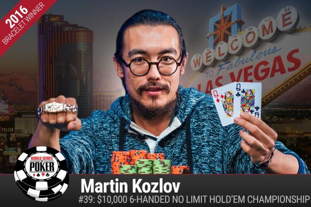 Article image for: MARTIN KOZLOV WINS THRILLING VICTORY IN $10K SIX-HANDED NLHE CHAMPIONSHIP