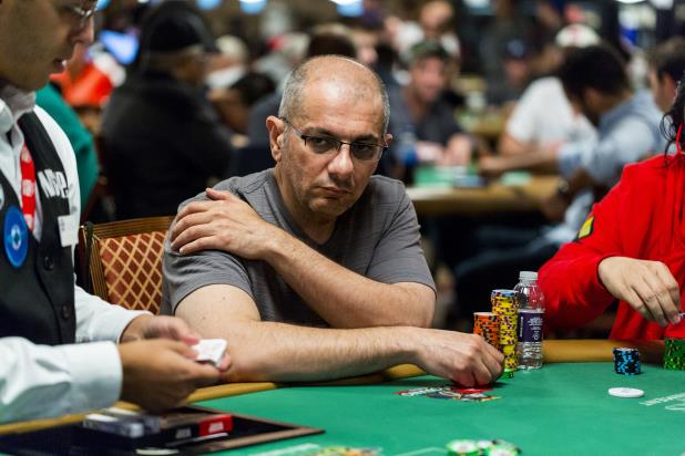 HAMID FEIZ TOPS DAY 1B OF THE MAIN EVENT