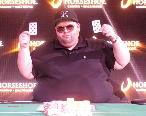 Article image for: Joseph Cappello Wins Main Event at Horseshoe Baltimore
