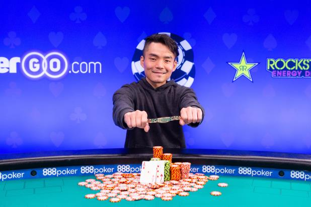 LONGSHENG TAN WINS EVENT #66, $1,500 NO-LIMIT HOLD