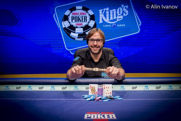 MARTI ROCA DE TORRES WINS WSOP EUROPE MAIN EVENT