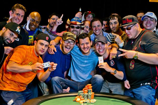 MATTHEW WAXMAN WINS EPIC HEADS-UP BATTLE AND FIRST BRACELET