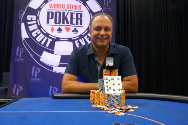 MOHAMMAD MOEINI VICTORIOUS IN IP BILOXI MAIN EVENT