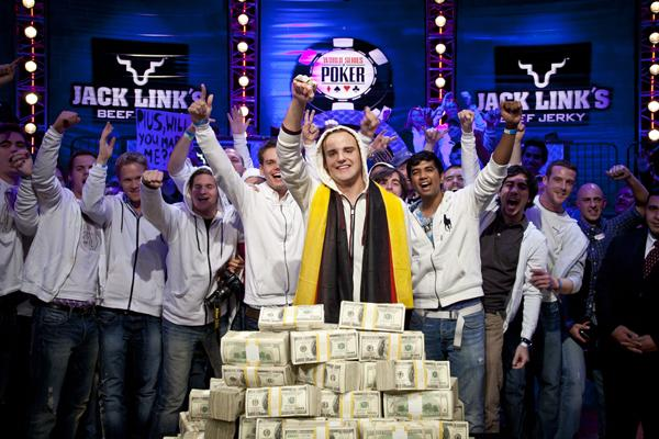 PIUS THE FIRST: PIUS HEINZ WINS 2011 WSOP MAIN EVENT CHAMPIONSHIP