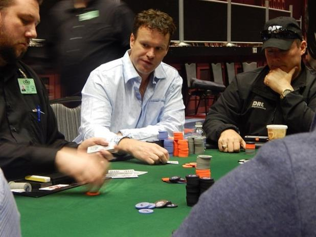 DAY 1 OF THE CHEROKEE MAIN CONCLUDES WITH AARON PLAISTED IN THE LEAD