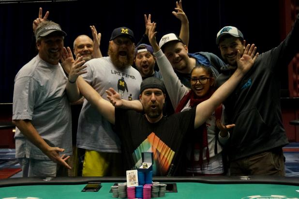 STEVEN SNYDER WINS CIRCUIT MAIN EVENT AT HARRAH'S CHEROKEE