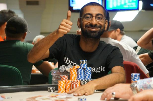 ZO KARIM LEADS DECORATED DAY 2 FIELD IN PALM BEACH MAIN EVENT
