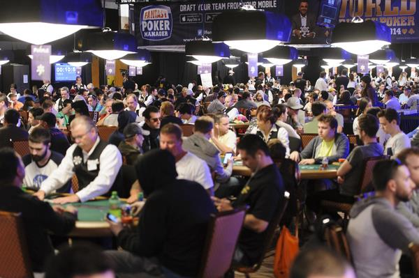 10TH YEAR AT THE RIO IS THE BIGGEST IN WSOP HISTORY