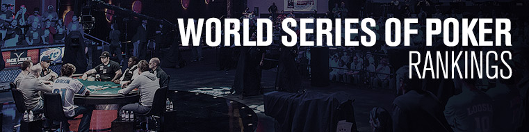 world series of poker standings