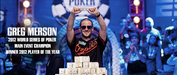 WSOP | 2012 Main Event Winner | Greg Merson
