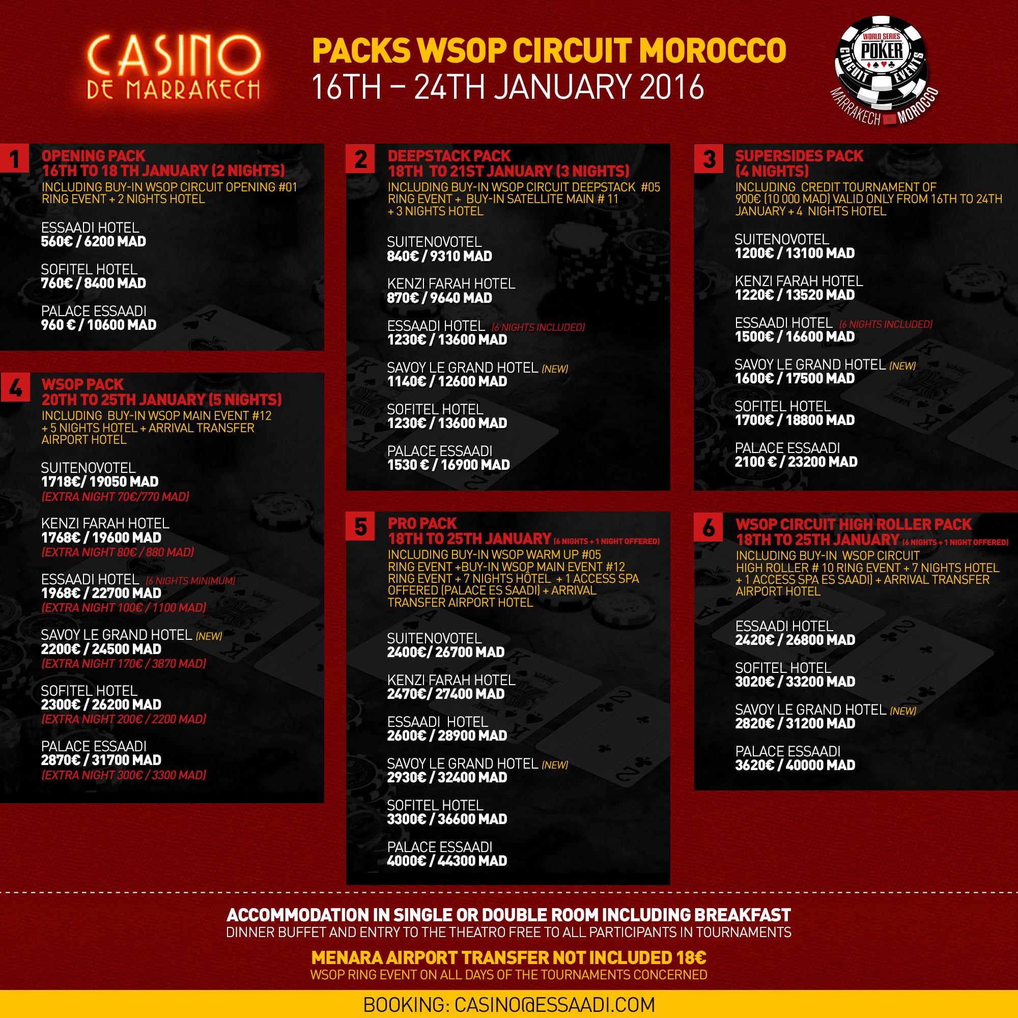 wsop circuit event schedule