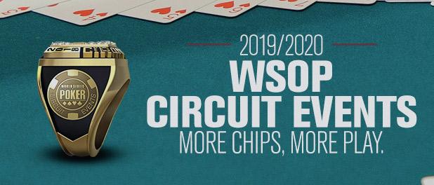 Wsop 2020 Main Event Schedule WSOP | Circuit | 2019 WSOPC