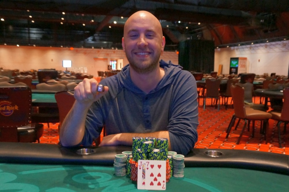 Zachary Donovan has earned his second career Circuit ring by winning the  Main Event at Seminole Casino Coconut Creek, Event  11,  1,700 No-Limit  Hold em. 831cd7c1765