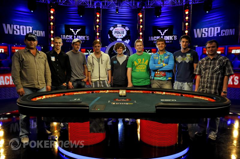November Nine 2011 WSOP