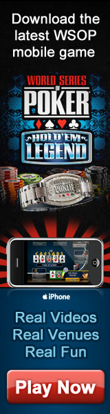 WSOP Official iPhone Poker Game