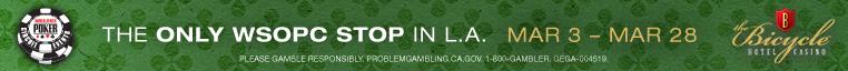 WSOPC Bike | Winnin' O' The Green Poker Tournament