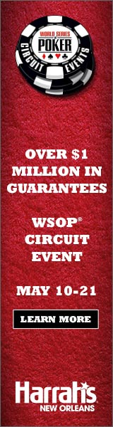 Harrahs New Orleans WSOP Circuit