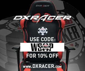DXRACER.com | 10% off using code WSOP