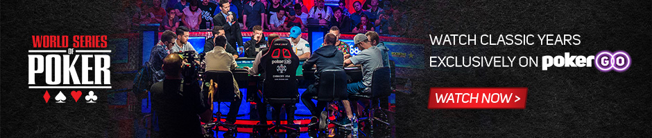 WSOP 2020 | PokerGo
