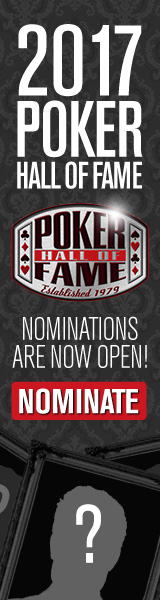 Poker Hall of Fame 2017