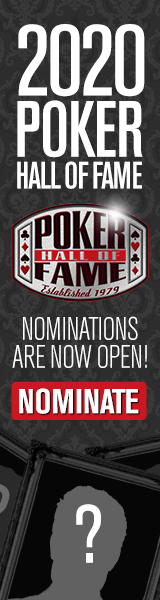 Poker Hall of Fame 2020