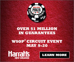 2019 WSOP Circuit Event | Harrahs New Orleans