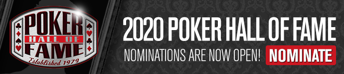 2020 Poker Hall of Fame Nominations