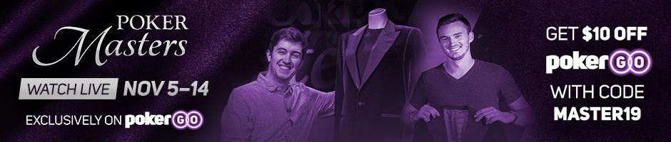 Poker Masters on PokerCentral