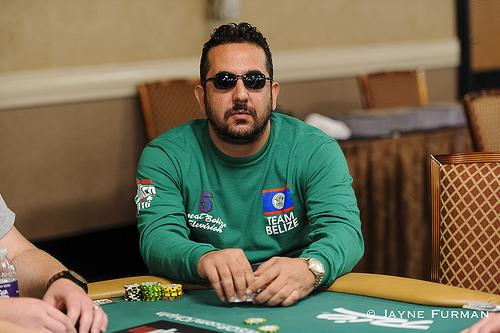 Belize poker player