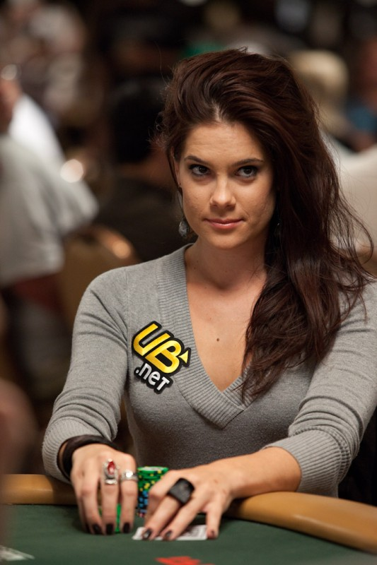Asian poker player