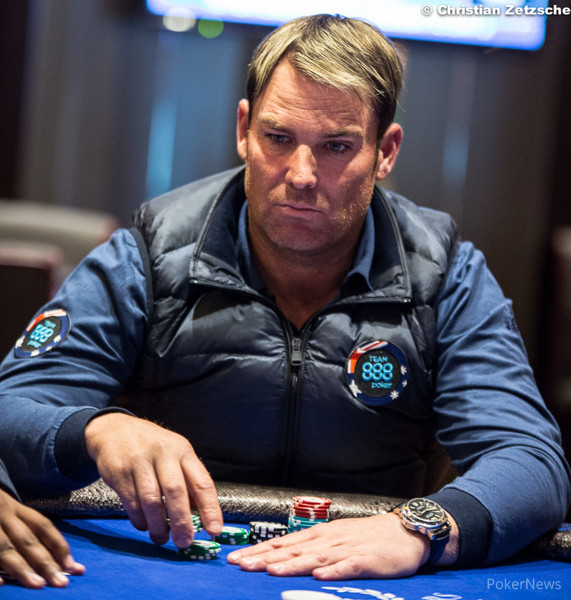 Shane warne poker 2015 ratner crap speech