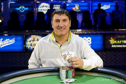 Winner Event 10 Keith Lehr